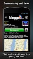 Screenshot of binggo deals offers & coupons