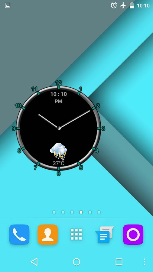 Super Clock Widget [Free]- screenshot