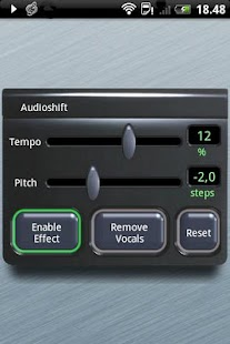Audioshift Tempo+Pitch Free - screenshot thumbnail