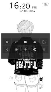 Black and White Live Locker - screenshot thumbnail