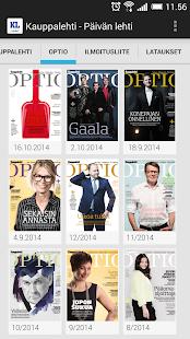 Kauppalehti - näköislehdet- screenshot thumbnail