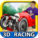 3 Wheel Madness (3D Car Race) icon
