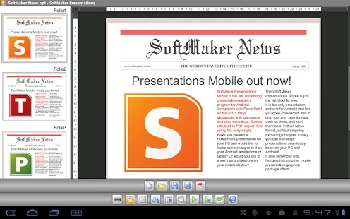 Office: Presentations TRIAL - screenshot thumbnail