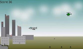 Screenshot of Anti-Aircraft Gunner