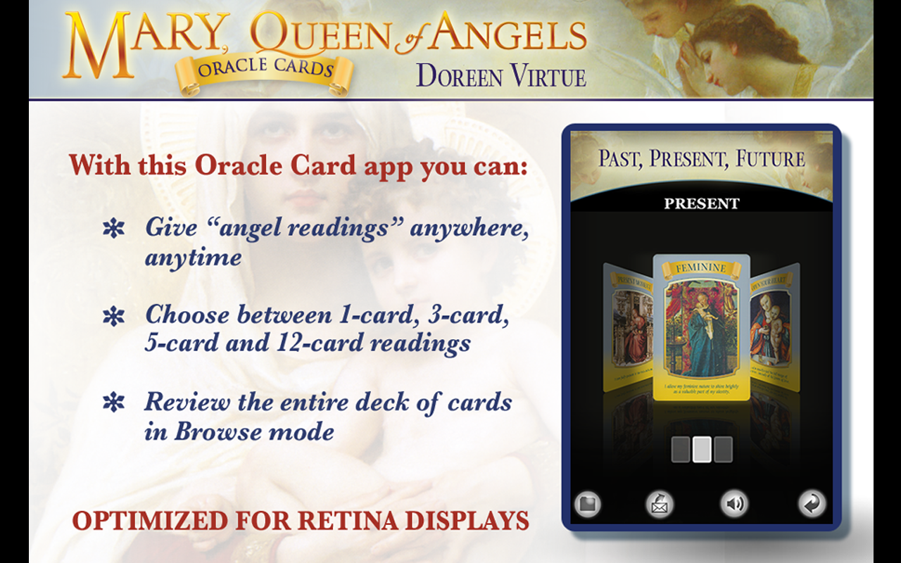 Mary, Queen of Angels Cards - screenshot
