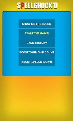 Spellshock'd Free Word Game