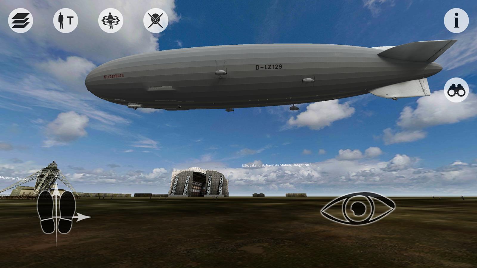 Virtual Zeppelin Tour