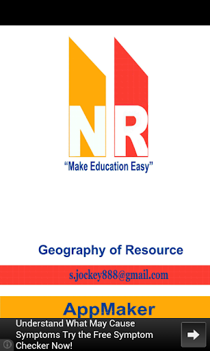 Geography Of resources