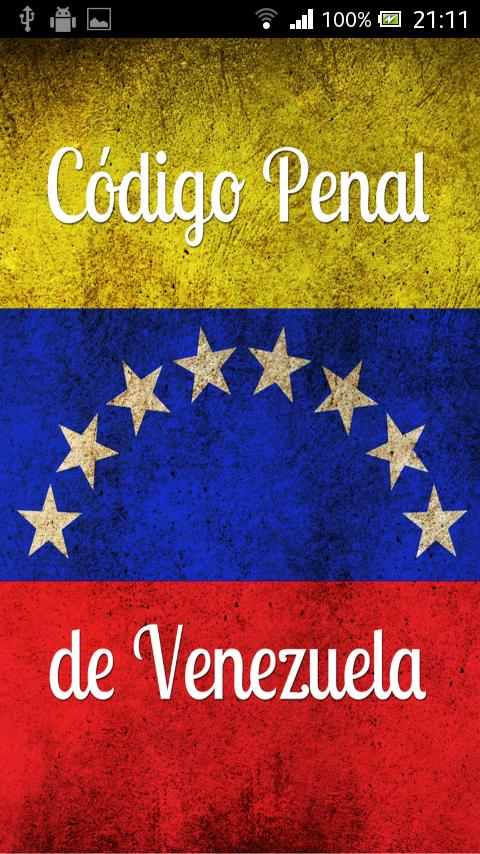 Código Penal de Venezuela- screenshot