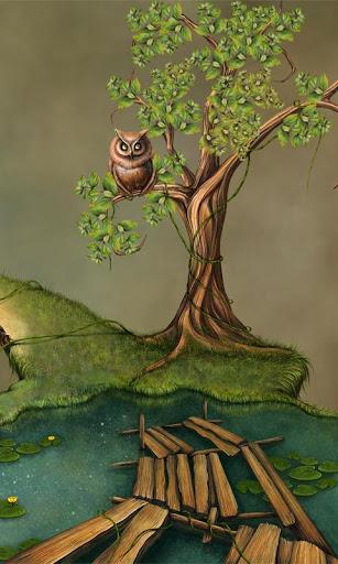 FREE Fantasy Swamp Live Wall
