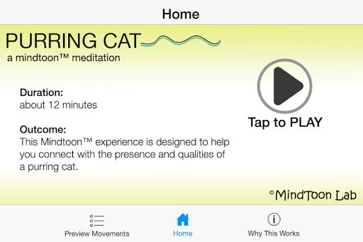 Purring Cat Meditation