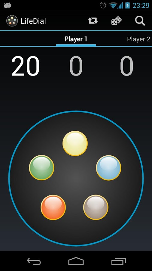 Life Dial- screenshot