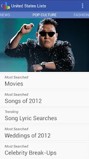 Google Zeitgeist 2012 - screenshot thumbnail