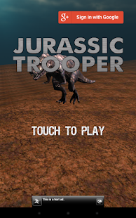 JURASSIC TROOPER- screenshot thumbnail