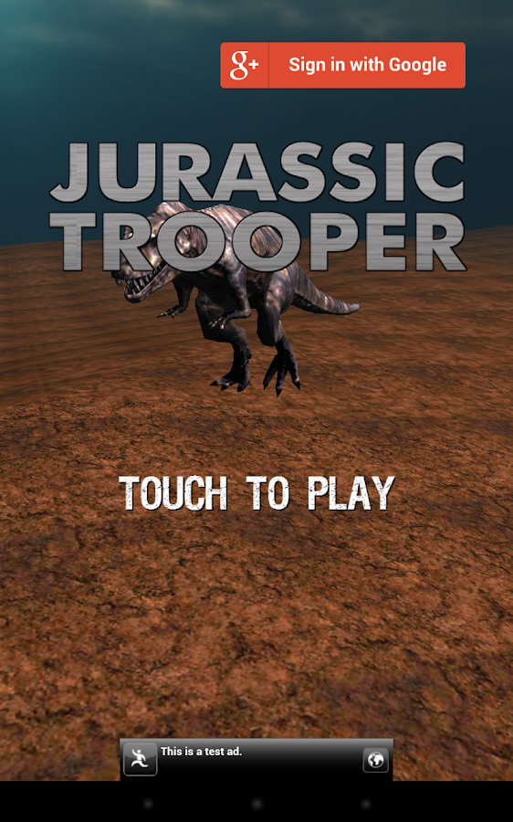 JURASSIC TROOPER- screenshot