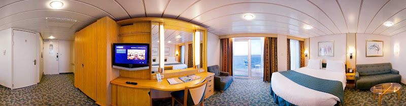 The accessible suites on Liberty of the Seas are designed with extra turning space, wider doorways, a private balcony and other modified amenities tailored to people using wheelchairs.