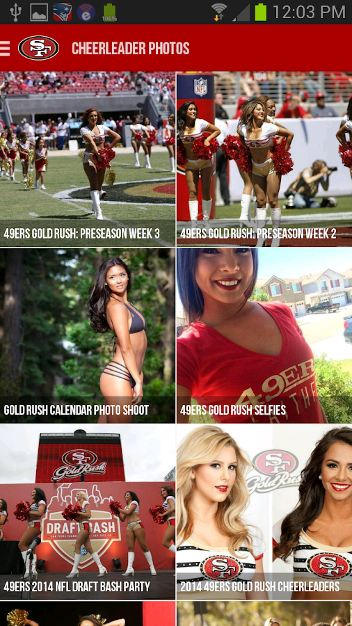 San Francisco 49ers - screenshot