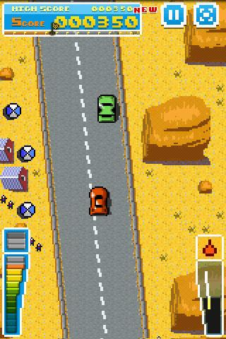 Road Fighter- screenshot