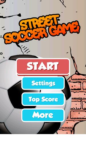 Game of Street Soccer