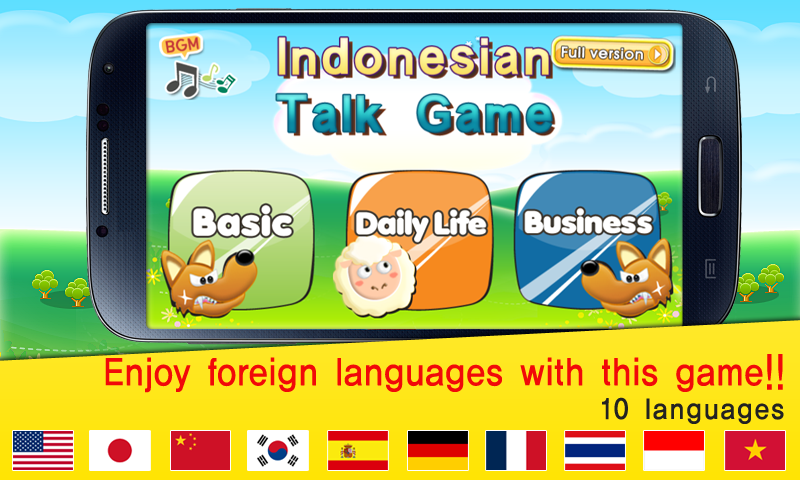 TS Indonesian Talk Game - screenshot