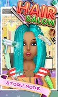 Screenshot of Hair Salon - Kids Games