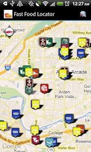 Fast Food Restaurants Locator- screenshot thumbnail