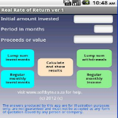 Real rate of Return