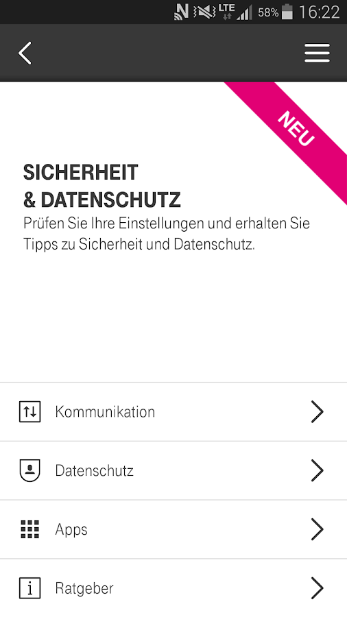 Smartphone Hilfe- screenshot