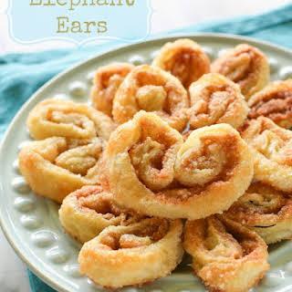 Elephant Ears Pastry Recipes.
