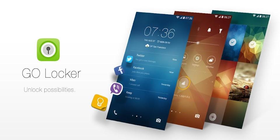 Screenshot 1 GO Locker - theme & wallpaper
