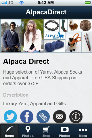 Alpaca Direct Shopping