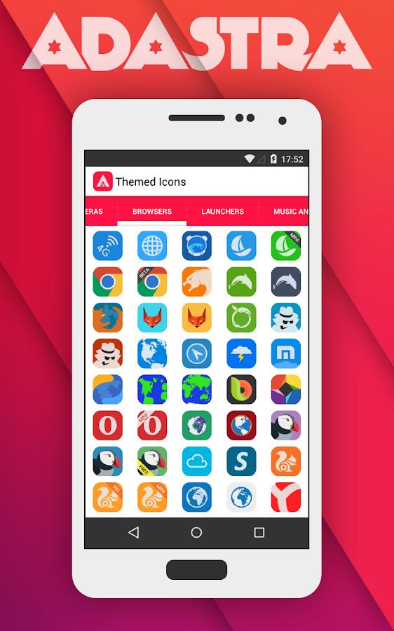 Adastra - Icon Pack - screenshot