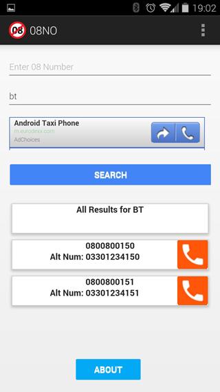 0800NO say no to 0870/45- screenshot