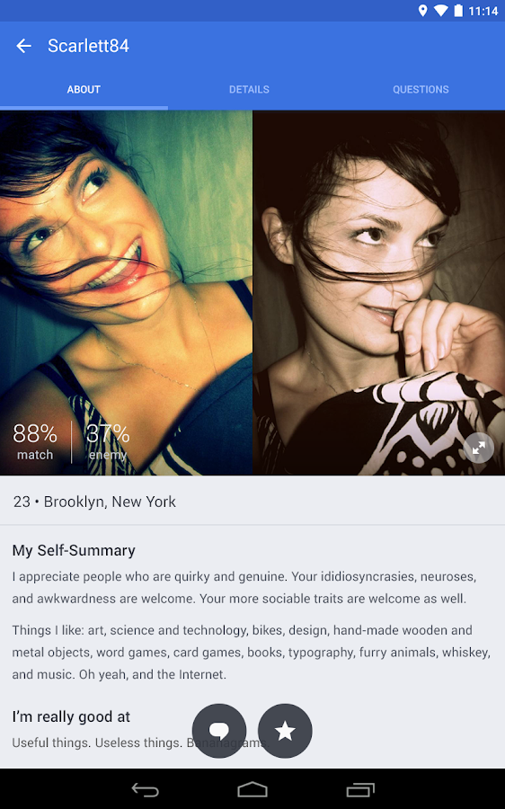OkCupid Dating - screenshot
