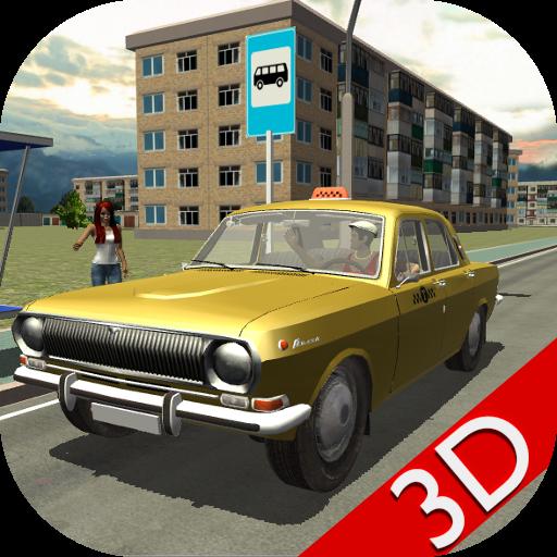 Russian Taxi Simulator 3D LOGO-APP點子