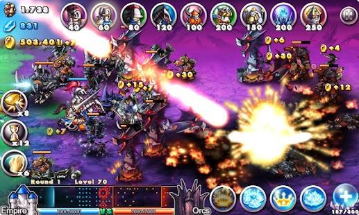 Empire VS Orcs – miniatura snímku obrazovky