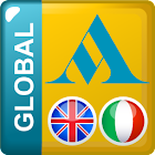 English - Italian Translator Dictionary Global icon