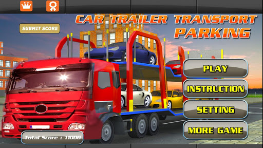 3D Car Transport parking