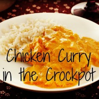 Chicken Curry in the Crockpot.