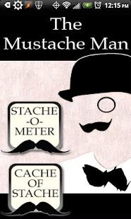 The Mustache Man
