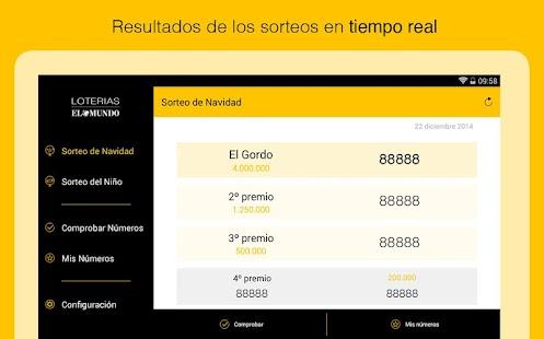 El Mundo Loterías - screenshot thumbnail