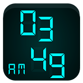 Modern Digital V Clock GearFit