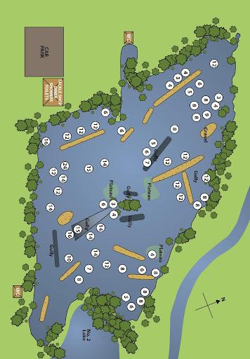 carp lake maps - Carp Fishing