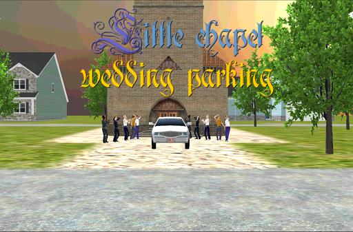 小教堂婚礼停车场