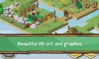 Screenshot of Lawnmower Challenge