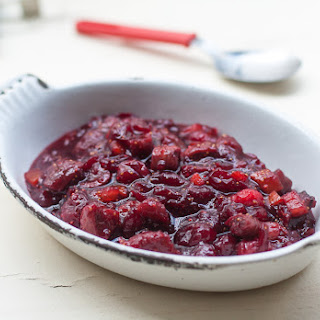 Cranberry Sauce with Red Wine and Figs