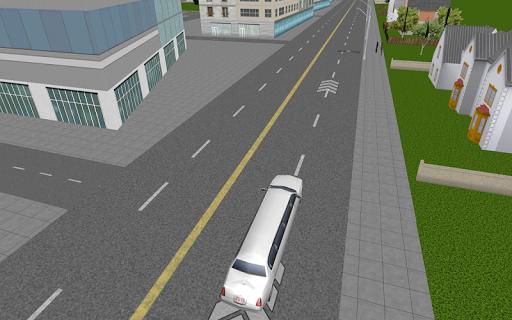 豪华轿车司机模拟器