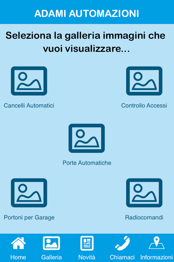 Adami Automazioni- screenshot