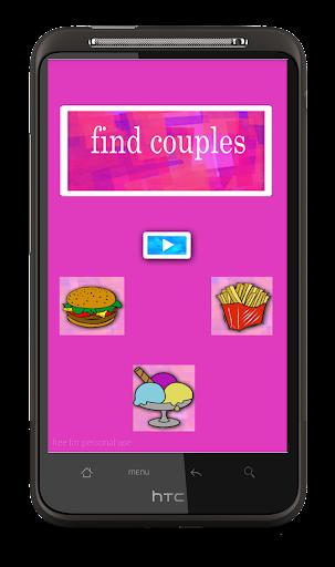 Find Couples Jeu Memoire