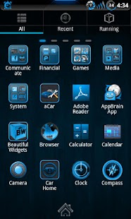 Steel Blue Theme for CM7 - screenshot thumbnail